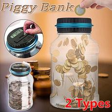 electricpiggybank, lcdcountingcoin, piggybank, Electric