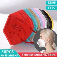 dustmask, kn95filter, Colorful, ffp3facemask