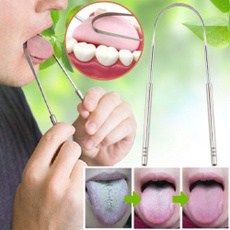 tonguecleaner, Toothbrush, Stainless Steel, mouthhygienecare