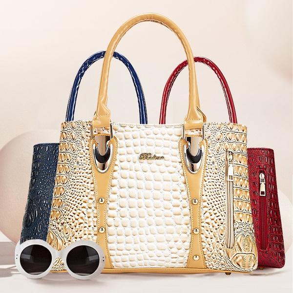 Fashion, Capacity, ladysbag, alligator