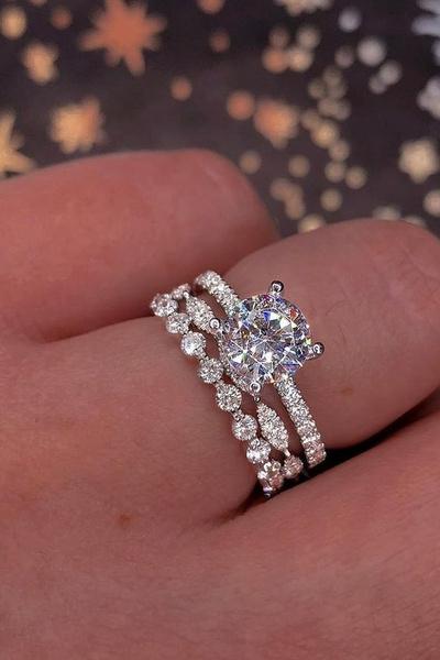 Sterling, DIAMOND, ladysring, Gifts