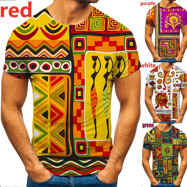 Summer, africatshirt, Fashion, funny3dtshirt