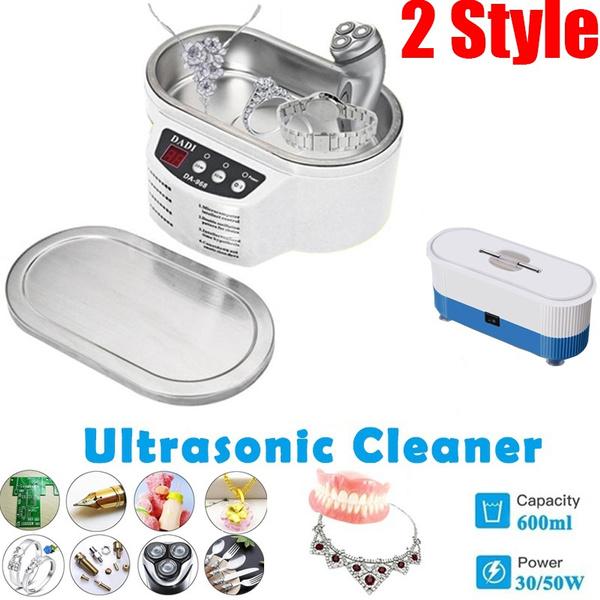 Box, Mini, electricultrasoniccleaner, Jewelry