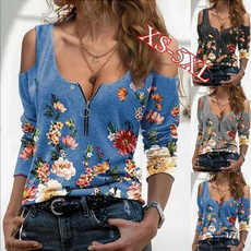Fashion, Long Sleeve, slim, V-neck