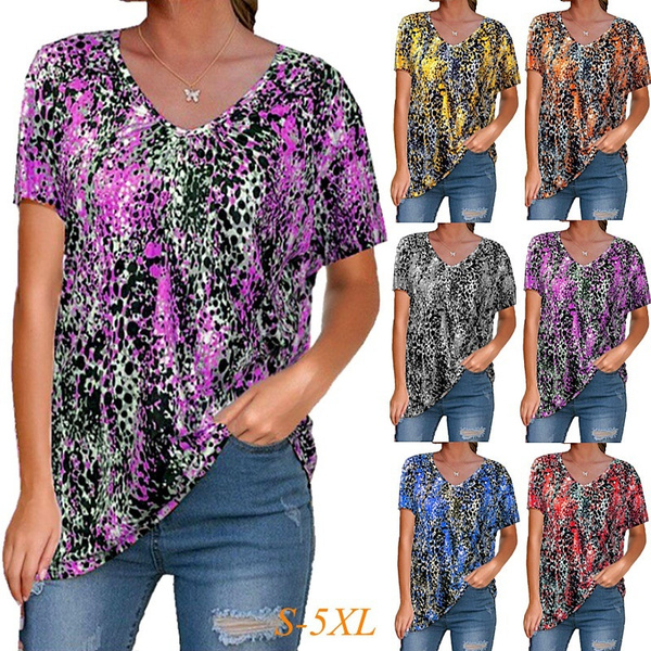 blouse, sleeve v-neck, Plus Size, Shirt