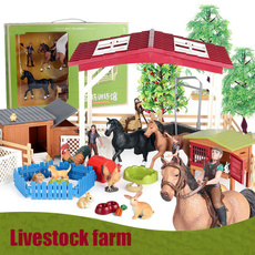 horse, Toy, Farm, Animal