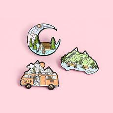 landscapepin, Mountain, outdoorgift, Pins