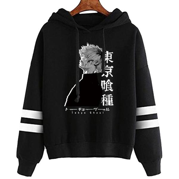Plus size top, Hoodies, Long Sleeve, anime hoodie