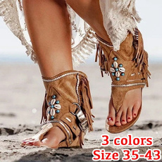 Summer, Plus Size, Туфлі без підборів, Roman