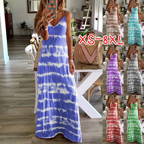 Summer, Plus Size, Halter, long dress