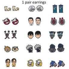 sonic, Fashion, Jewelry, Stud Earring