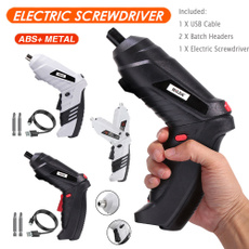cordlessscrewdriver, usb, Battery, lights