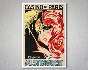 Decor, Entertainment, Vintage, Paris