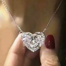 Sterling, Heart, Fashion, Bridal