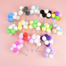 babyshower, ballooncaketopper, Colorful, Wedding Accessories