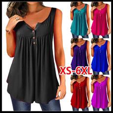 Summer, Vest, Fashion, womensshortsleeve