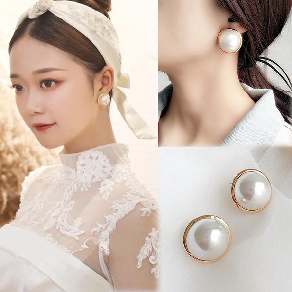Antique, Fashion, Jewelry, Pearl Earrings