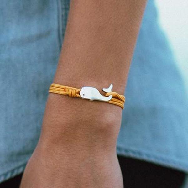 whale, Fashion, rope bracelet, Jewelry