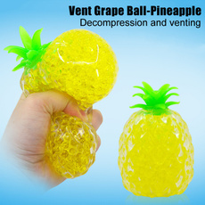 Toy, decompression, squeezingballtoy, Pineapple