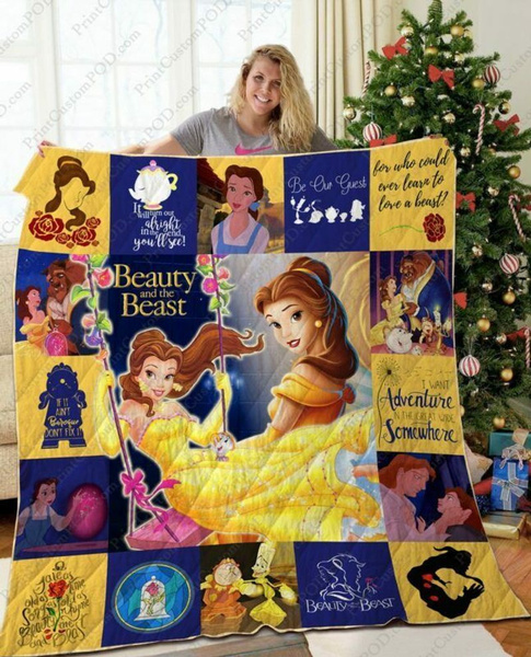 pifleeceblanket, Polyester, princessdisneylovergift, Beauty