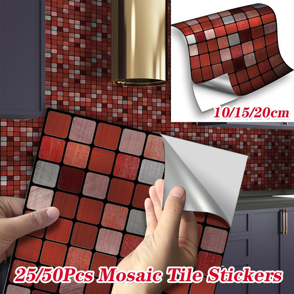 fashionabledecorationmaterial, mosaicsticke, Decor, Home & Living