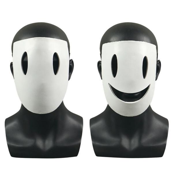 halffacemask, smilemask, tenkushinpan, Masks