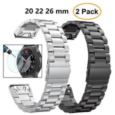 Steel, garminfenixwatchband, garminfenix6sband, garminfenix3band