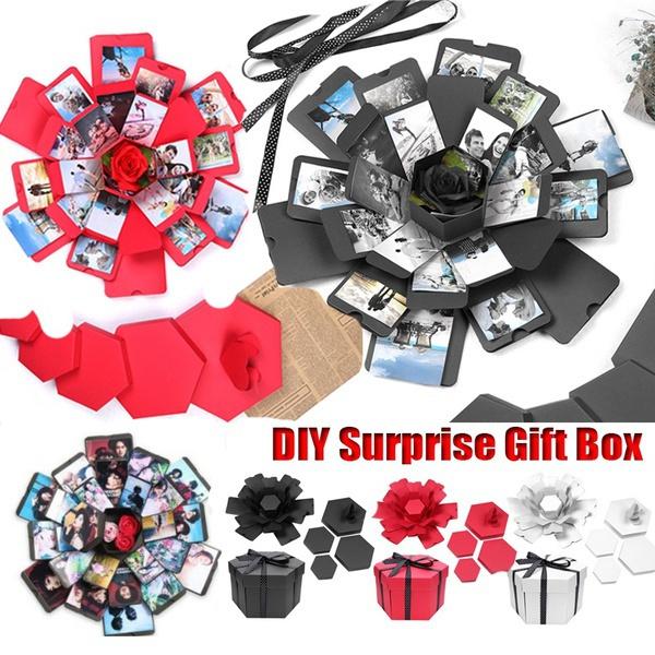 Box, photoalbumbox, explosiongiftbox, Christmas