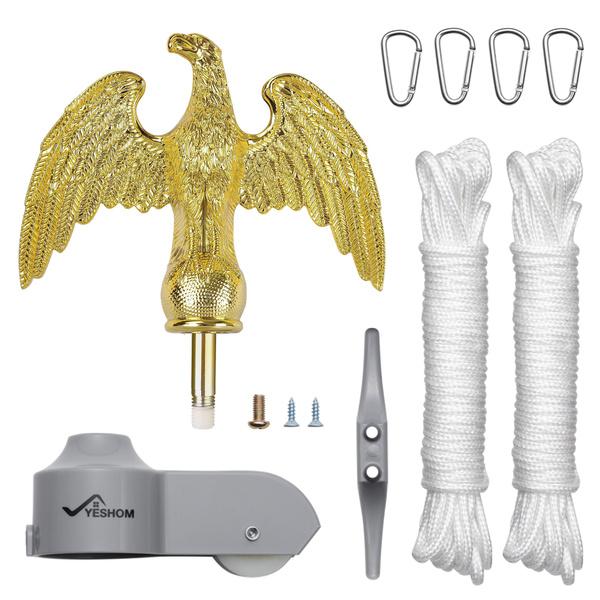americaflag, Fashion, flagpoleaccessorie, aluminumcarabiner