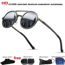 Outdoor, Aluminum, Vintage, metal sunglasses