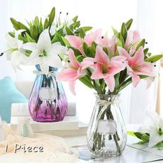 Decor, bridalflowerbouquet, pvcflowerdecoration, gardendecorflower