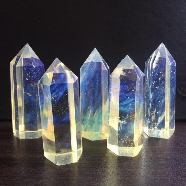 Blues, decoration, crystalgift, Christmas