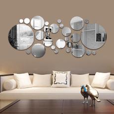 Home & Kitchen, Decor, bathroomsticker, acrylicmirrorwallsticker