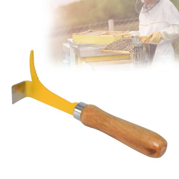 Steel, stainleesteel, beehivescraper, beekeeping