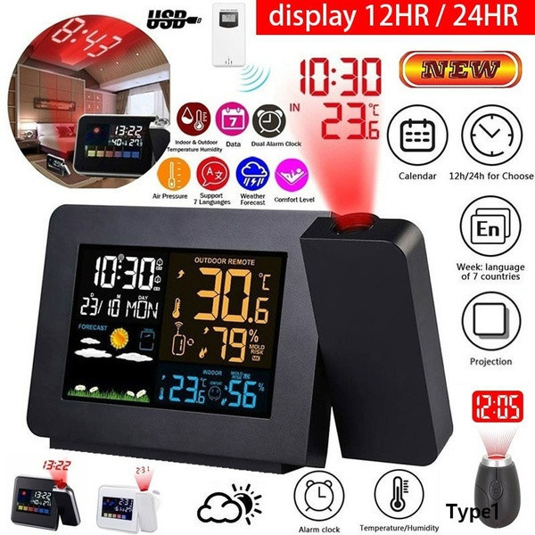 led, projection, Clock, Screen