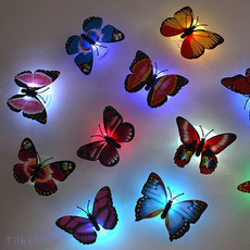 butterfly, cute, Decoración, led