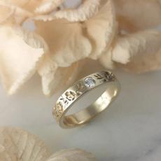 flowerdiamondring, Flowers, wedding ring, Gifts