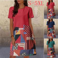 Summer, Fashion, sleeve dress, Sleeve