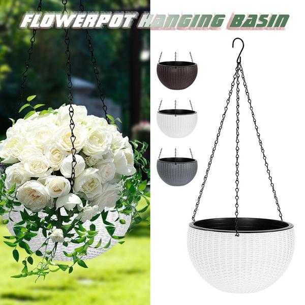 hangingplanterbasket, hangingflowerpot, Flowers, art