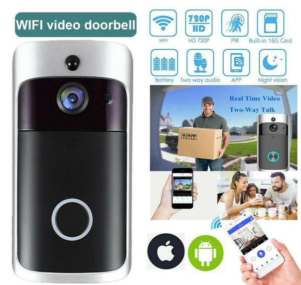 Bell, wirelessdoorbell, Door, ringdoorbell