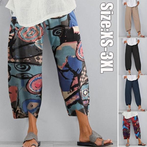 Women Pants, Plus Size, Waist, Casual pants