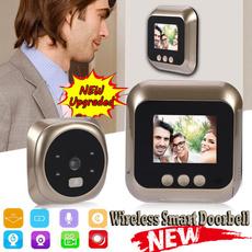 doorbellwirele, wirelessdoorbellcamera, Home & Living, phonedoorbell