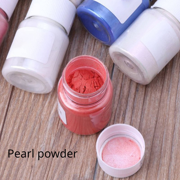 Bottle, painting, glitterpowder, Dyes