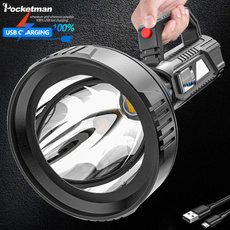 Flashlight, searchlight, led, portable