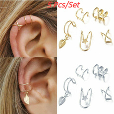 pierced, Jewelry, Women jewelry, earclipearring