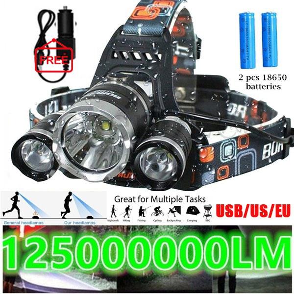 Flashlight, creeheadlamp, Head, LED Headlights
