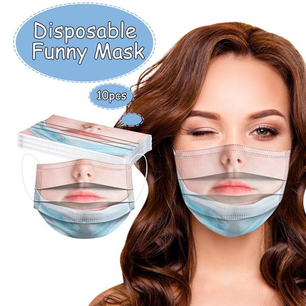Funny, prankmask, 3plymask, disposablefacemask