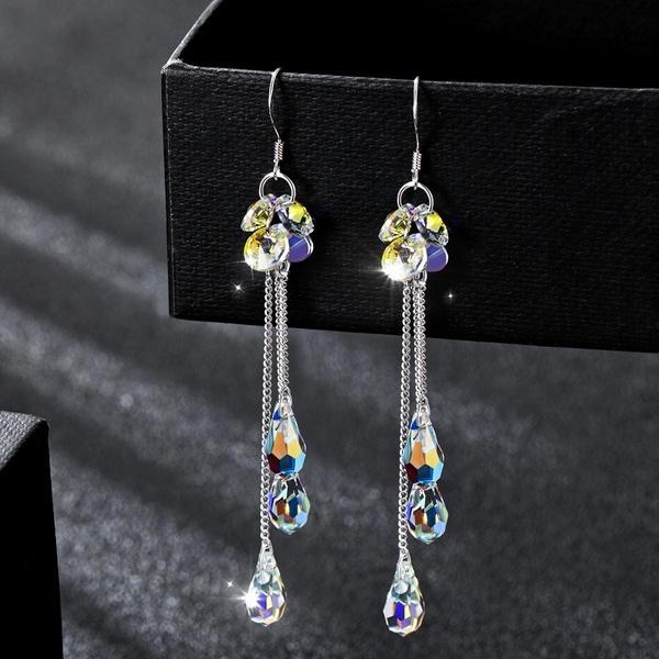 Sterling, Tassels, Dangle Earring, Jewelry