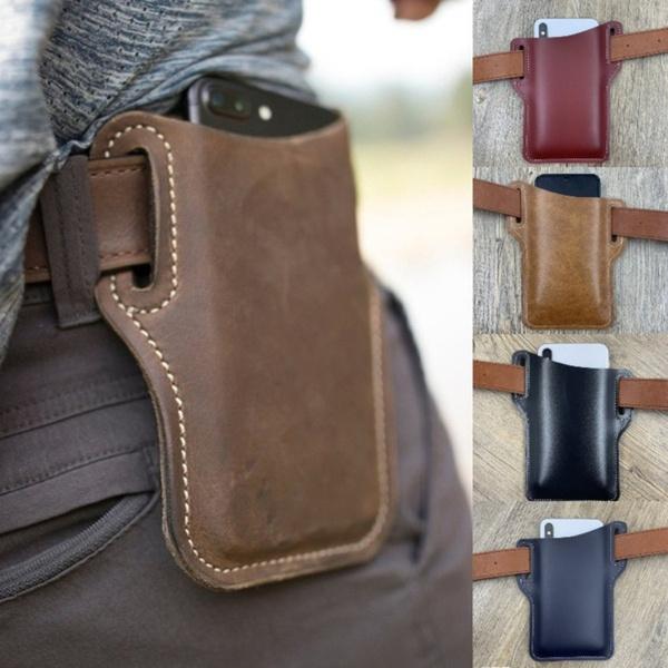 beltbagforlarp, Outdoor, leatherbeltbag, genuine leather bag.