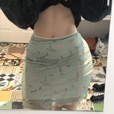 greenskirt, Summer, sweetstyleskirt, Waist